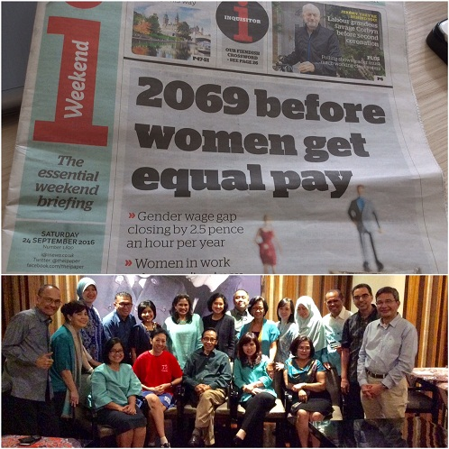 Gender Gaji dan Kinerja