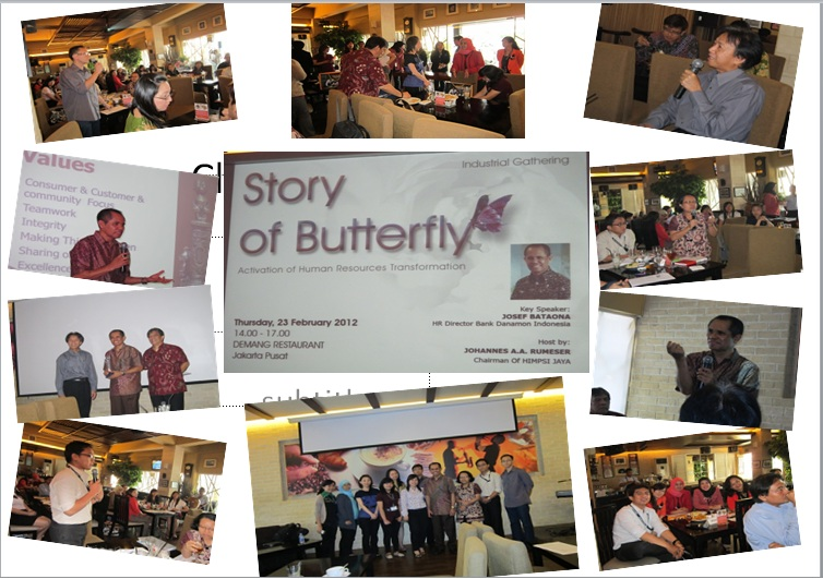 Sharing the Story of Butterfly