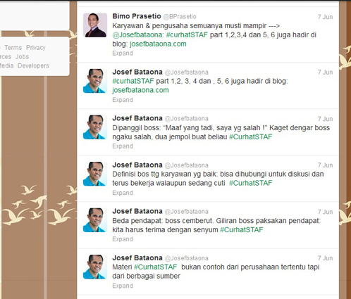 Engagement dan #CurhatSTAF (Part 7)