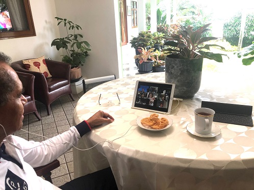 Happy Together at Home:  Virtual Hi-Tea